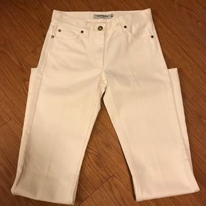 Perfect White YSL Yves Saint Laurent Jeans